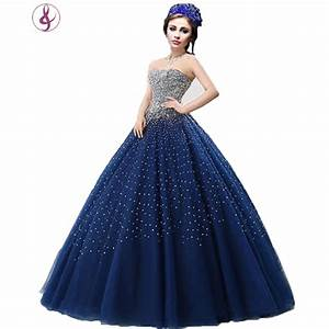 Popular Royal Blue Wedding Gown-Buy Cheap Royal Blue ...