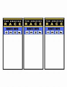 Amazing Race Birthday Party Templates Gallery