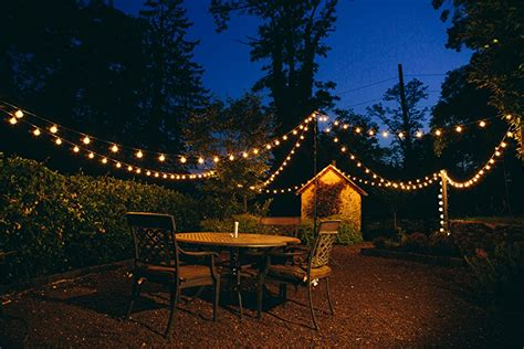Foot G Patio Globe String Lights With