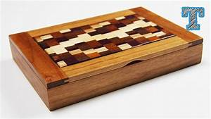 Make a Wooden Box with Scrap Wood - YouTube