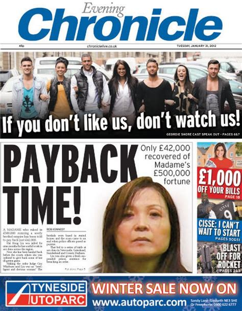 In newsagents now - today's Evening Chronicle - Chronicle Live