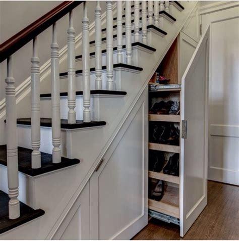 Meuble A Chaussure Sous Escalier
