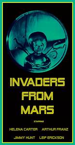 Invaders From Mars movie poster by Silverbullet56 on ...