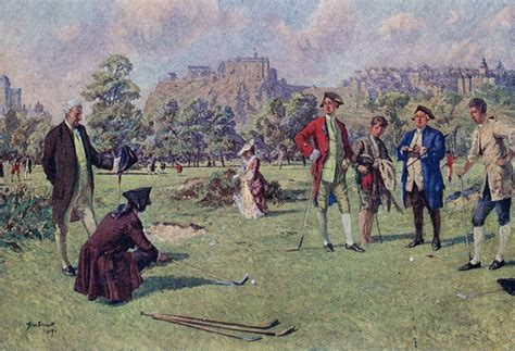 The Original Rules Of Golf From The 1700s