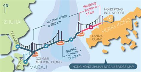 worlds longest sea crossing hong kong zhuhai macau