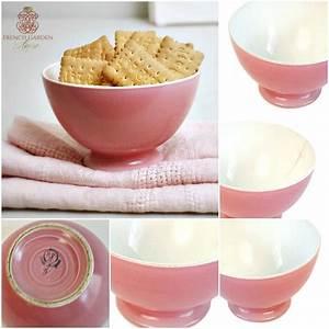Café Au Lait : pink cafe au lait bol ~ Carolinahurricanesstore.com Idées de Décoration