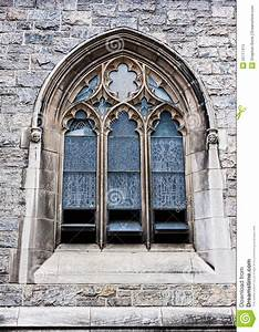 Outside View Of Church Window Royalty Free Stock Photo ...