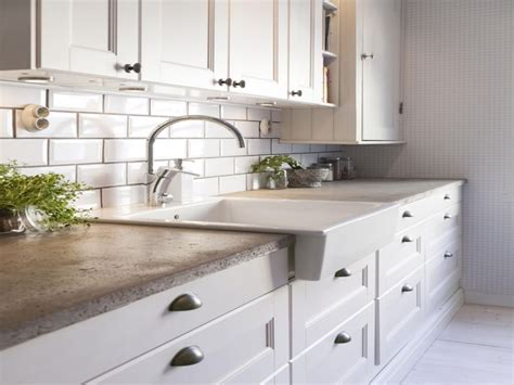 Best Color For Kitchen Cabinets 2017 by Concrete Countertop Kitchen Concrete Countertops With