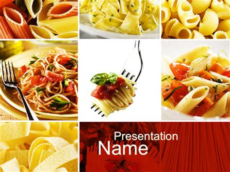 food powerpoint template italian food powerpoint templates and backgrounds for your presentations now
