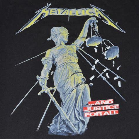 metallica  justice    shirt  wyco vintage