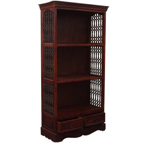 Iron Bookcases by Maude C Wood And Wrought Iron Bookcase