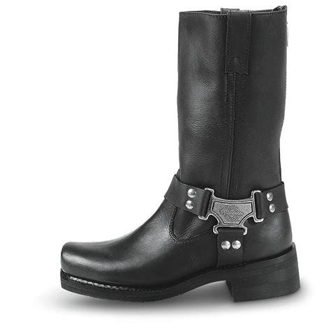 mens biker shoes men 39 s milwaukee classic zip harness motorcycle boots