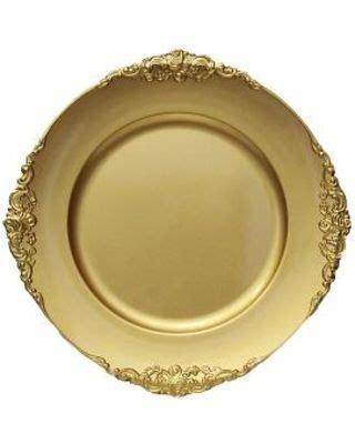 vintage gold charger plates vintage charger plates gold charger plate charger plates