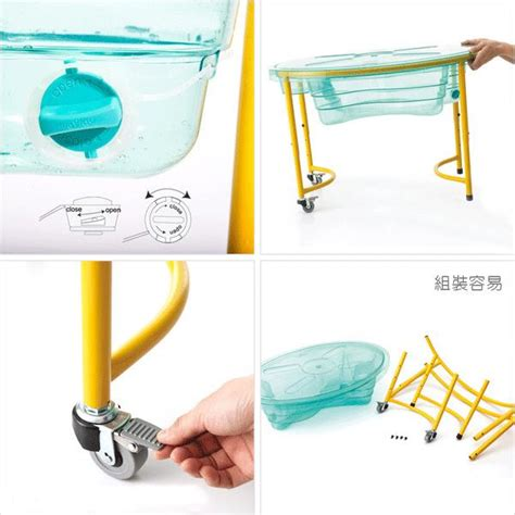 sensory table replacement tub weplay clear sand and water table sand and snow