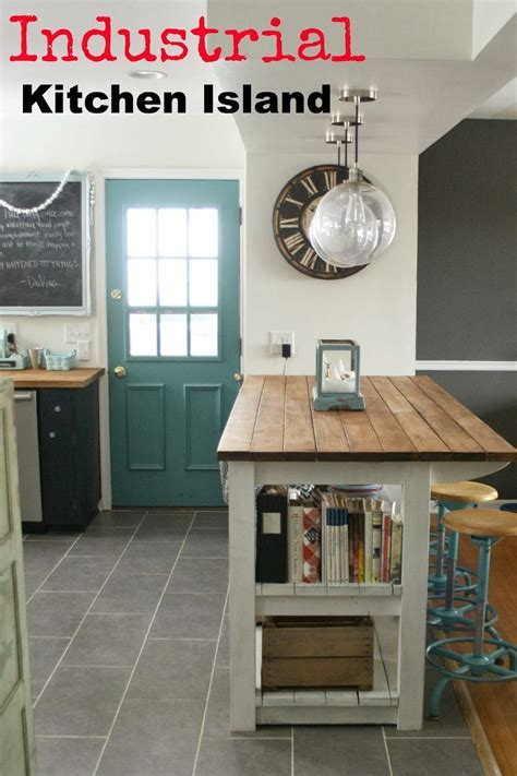 My Industrial Look Kitchen Island (and that time I messed