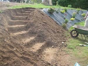 escalier jardins en pente pinterest With amenager jardin en pente 8 comment fabriquer un poulailler en bois pour le jardin