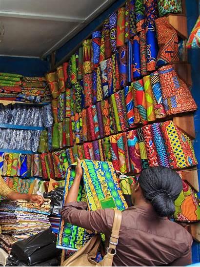 African Fabric Fabrics Market Popular October Meaning