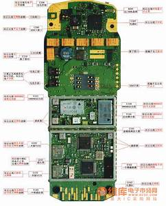 Nokia 3210 Mobile Physical Maintenance Circuit Diagram