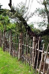 Cloture Jardin Bois : s paration jardin id es de cl tures haies et brise vue ~ Premium-room.com Idées de Décoration
