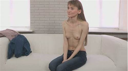 Rretty Slender Girl In Her Twenty Is Auditioning For Sex #Skinny #Girl #With #Long #Legs #Gets #Naked #On #The #Casting