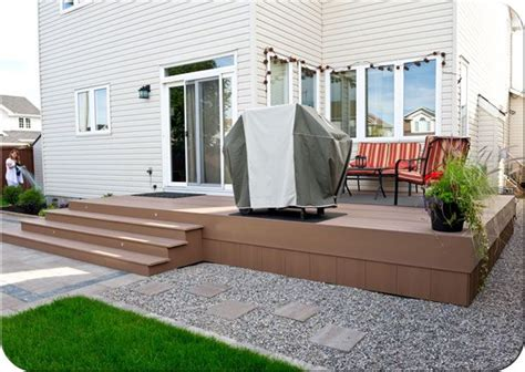 composite sun deck fence deck ideas pinterest