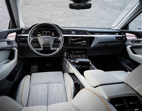 New Car Upholstery by Audi E Electric Interior Has Been Revealed In A New