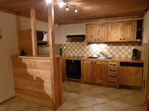 cuisine bois montagne wraste