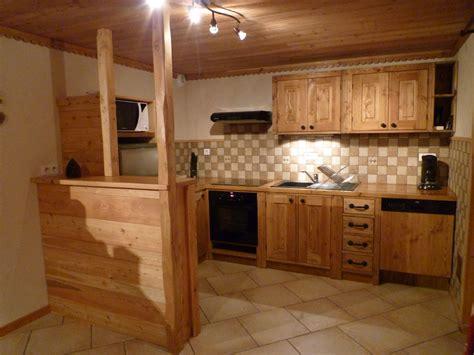 d馗or de cuisine cuisine montagne chalet idées de décoration et de mobilier pour la conception de la maison