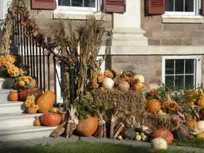 Fall Outdoor Decorating Ideas Front Yard