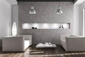 Graue Wandfarbe Wohnzimmer : eine wand graue wohnzimmer ~ Sanjose-hotels-ca.com Haus und Dekorationen