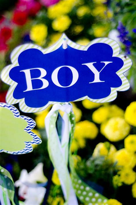 boy baby shower printable yard signs instant