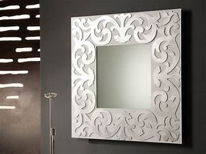 45 decorative wall mirrors by riflessi digsdigs With wall mirror decor