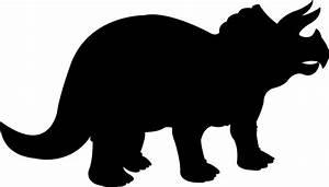 clipart dinosaur silhouette - Clipground