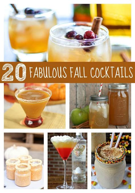 20 Fabulous Fall Cocktails  Seasons, Cocktails And The O'jays