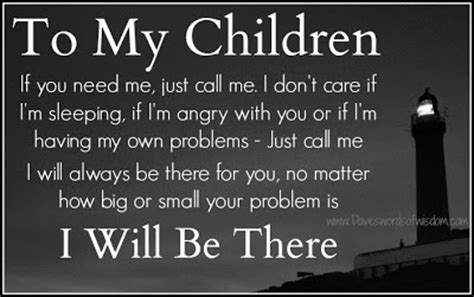 I Will Protect You My Child Quotes