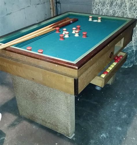 bumper pool table for sale vintage bumper pool table for sale in chicago il