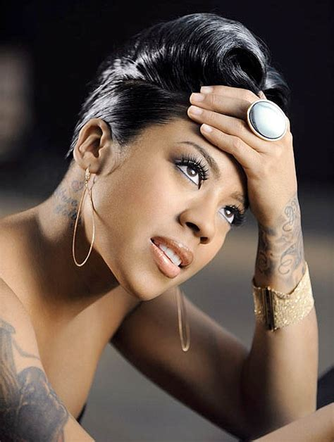 Keyshia Cole Black Hairstyles by Keyshia Cole Hairstyles Vissa Studios