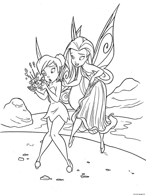 tinker bell  played  virginia browne faire coloring pages printable