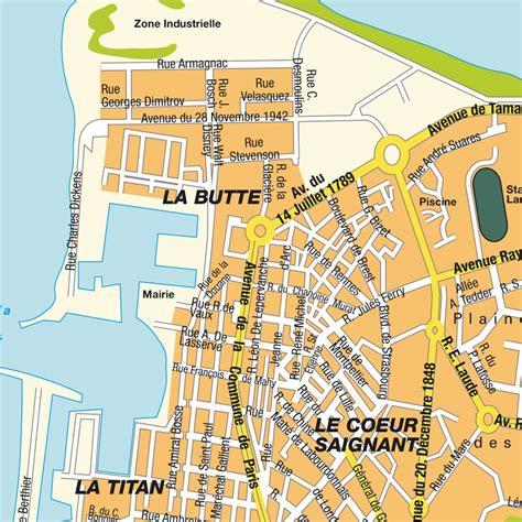 stadtplan le port r 233 union karte und routenplaner maps