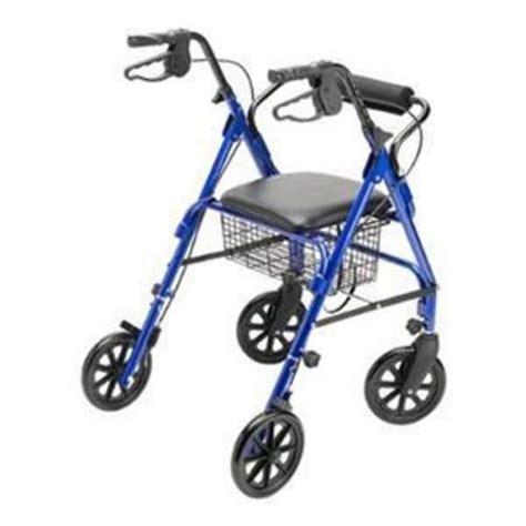 rollator walker elderly outdoor walkers wheels aids lightweight mobility wheel rolling adult go seat brakes amazon