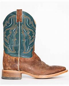 Cody james men39s blue cowboy boots square toe country for Cody james cowboy boots