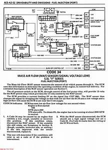 Troublecode 34 And Solution - 86 Camaro 305 Tpi