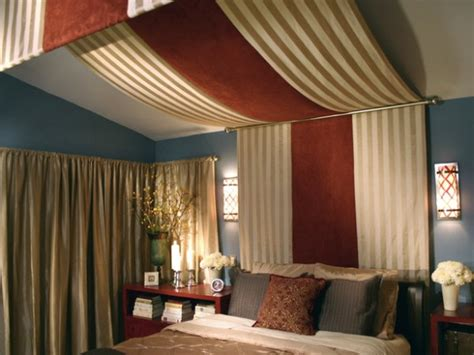 Draped Ceiling Bedroom by How To Decorate Slanted Ceilings
