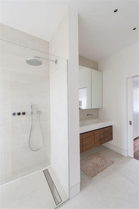 floor level showering  tiled wetroom floor  practical