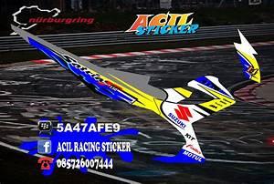 Acil Racing Sticker  Cilacap   Custom Striping Satria Fu