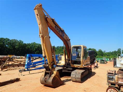 john deere  excavator jm wood auction company