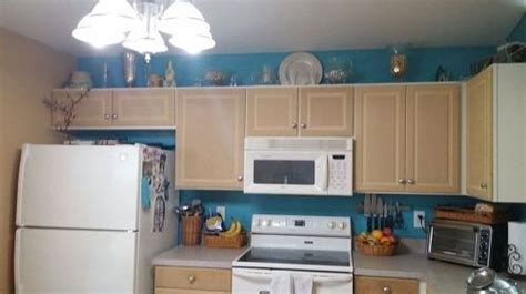 Painting particle board cabinets in mobile home.   Hometalk