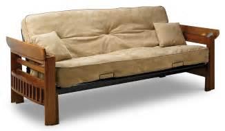 orlando futon hazelnut leon s