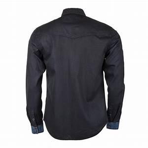Chemise Jean Noir Homme : total look jean citadin homme prix d griff ~ Melissatoandfro.com Idées de Décoration
