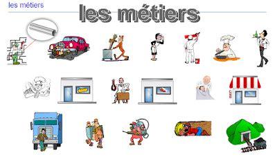 metier dans les bureau القاموس الفرنسي الناطق le bureau les métiers la ville la